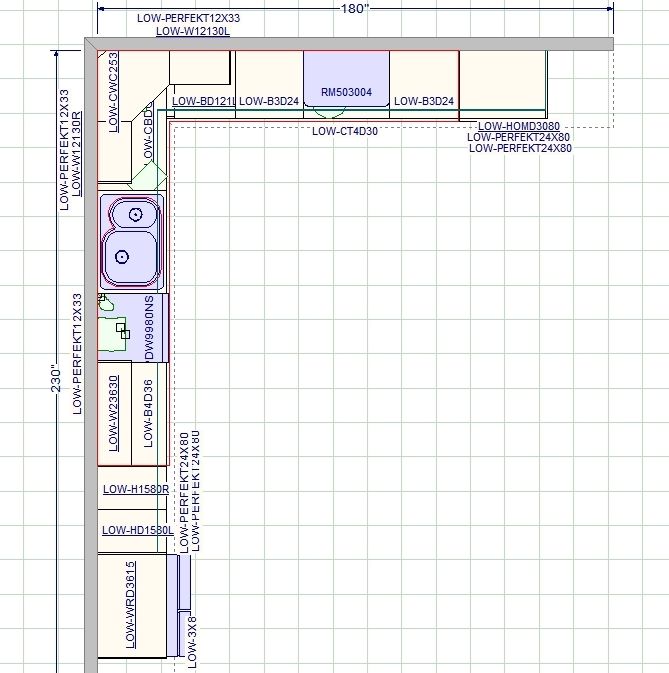 Permalink to Kitchen Cabinet Layout