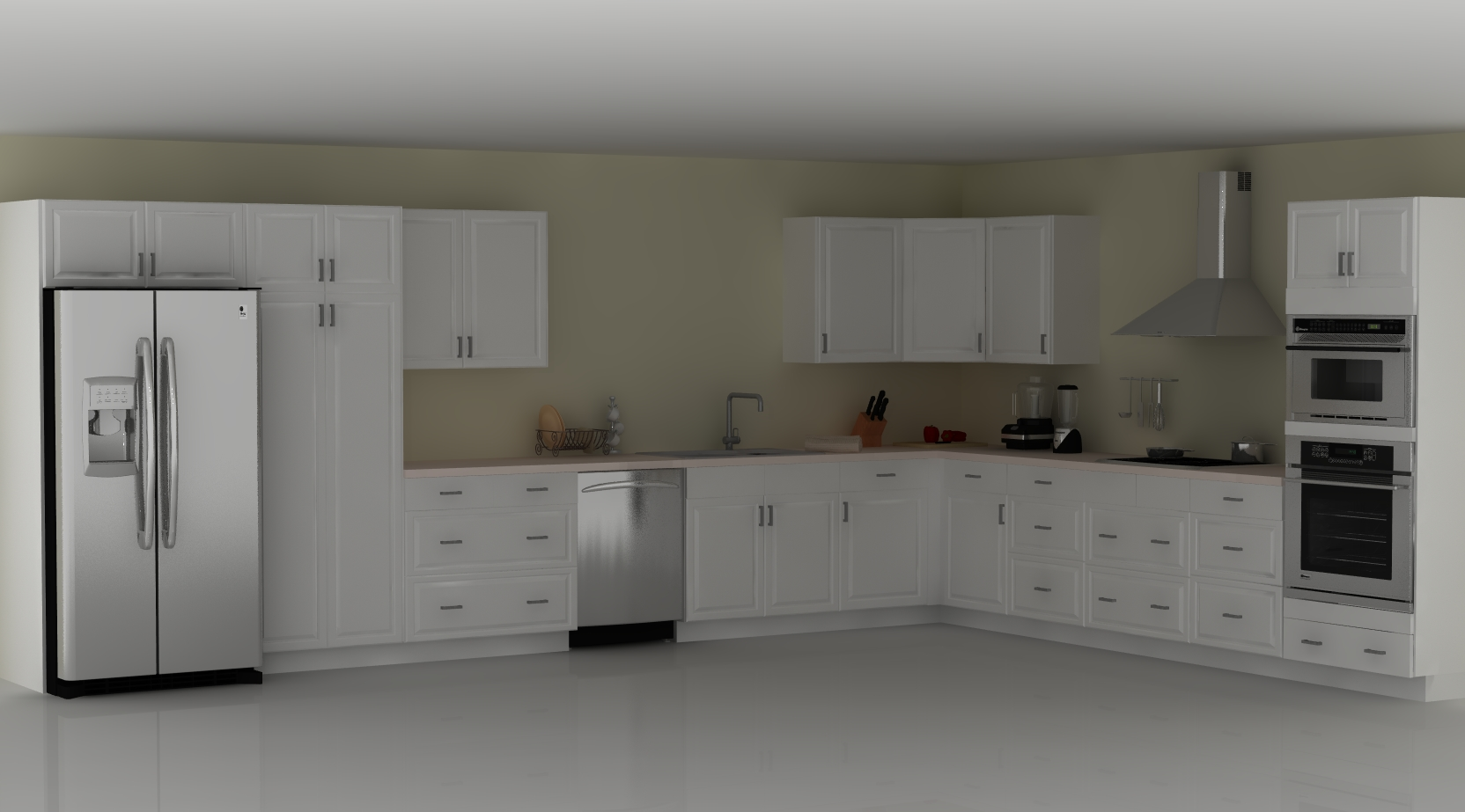 Ikea kitchen designer tips pros and cons of an l shaped for Kitchen arrangement layout