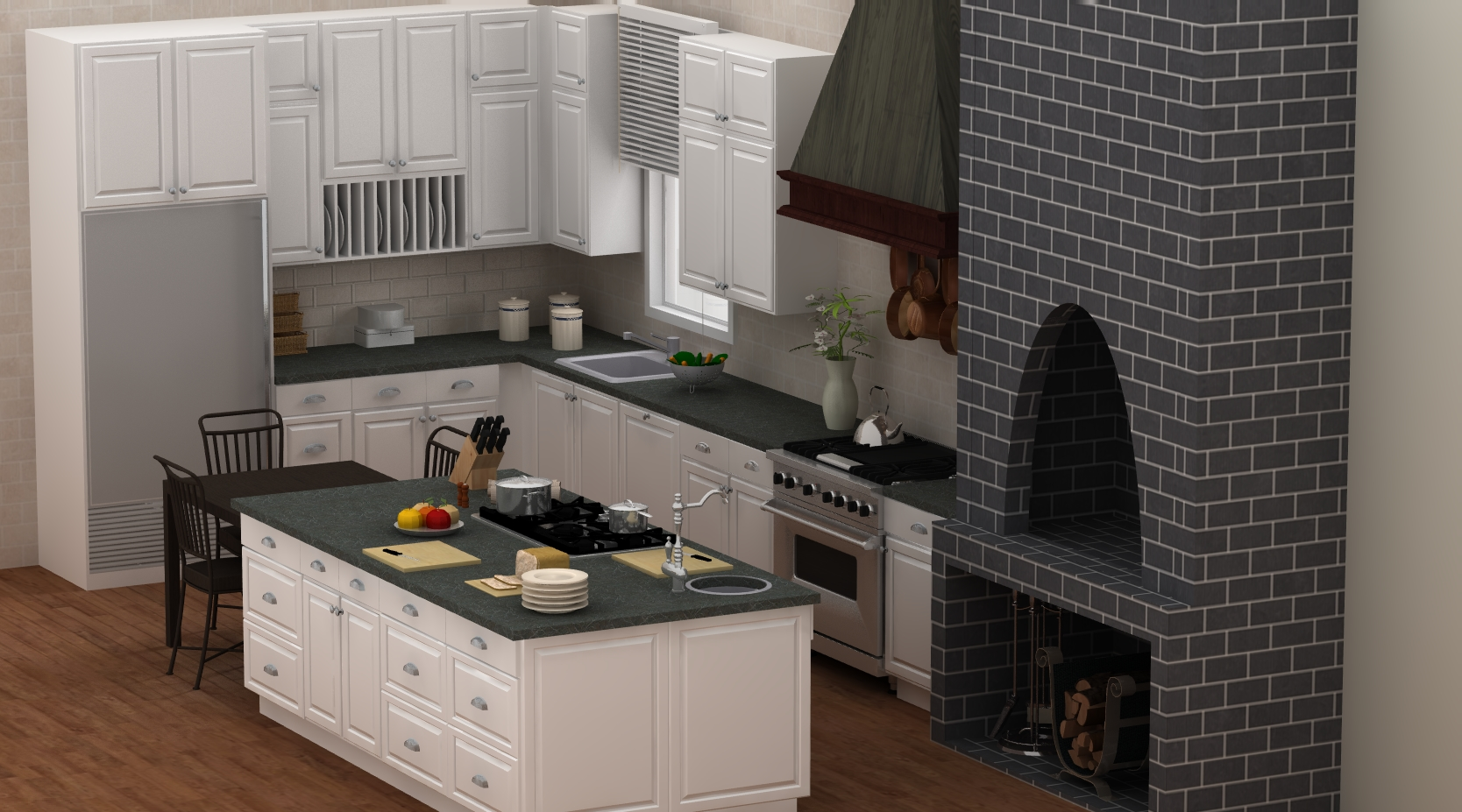 Paula Deen Kitchen Cabinets Famous Kitchens Get The Look Paulas Home Cooking Tv Chefs