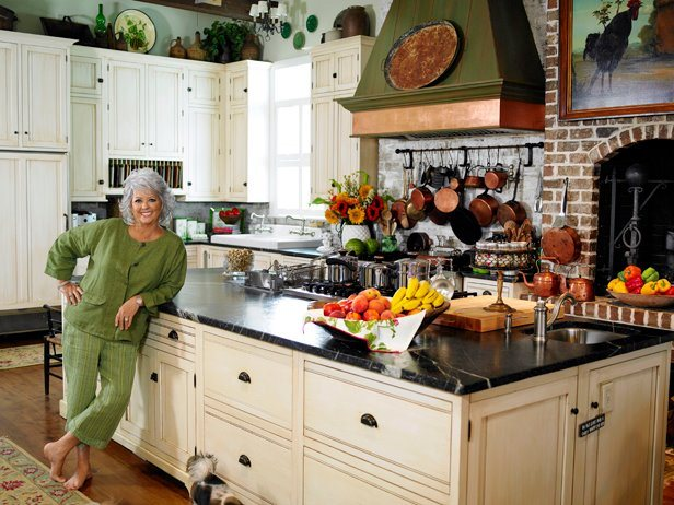 Famous Kitchens Get The Look Paula S Home Cooking Tv