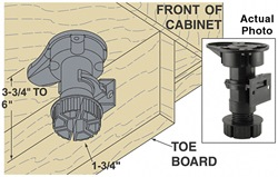 Kitchen Cabinets Legs tips for installing ikea toe-kicks