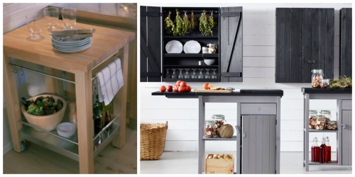 A Flexible Way To Furnish Your Kitchen